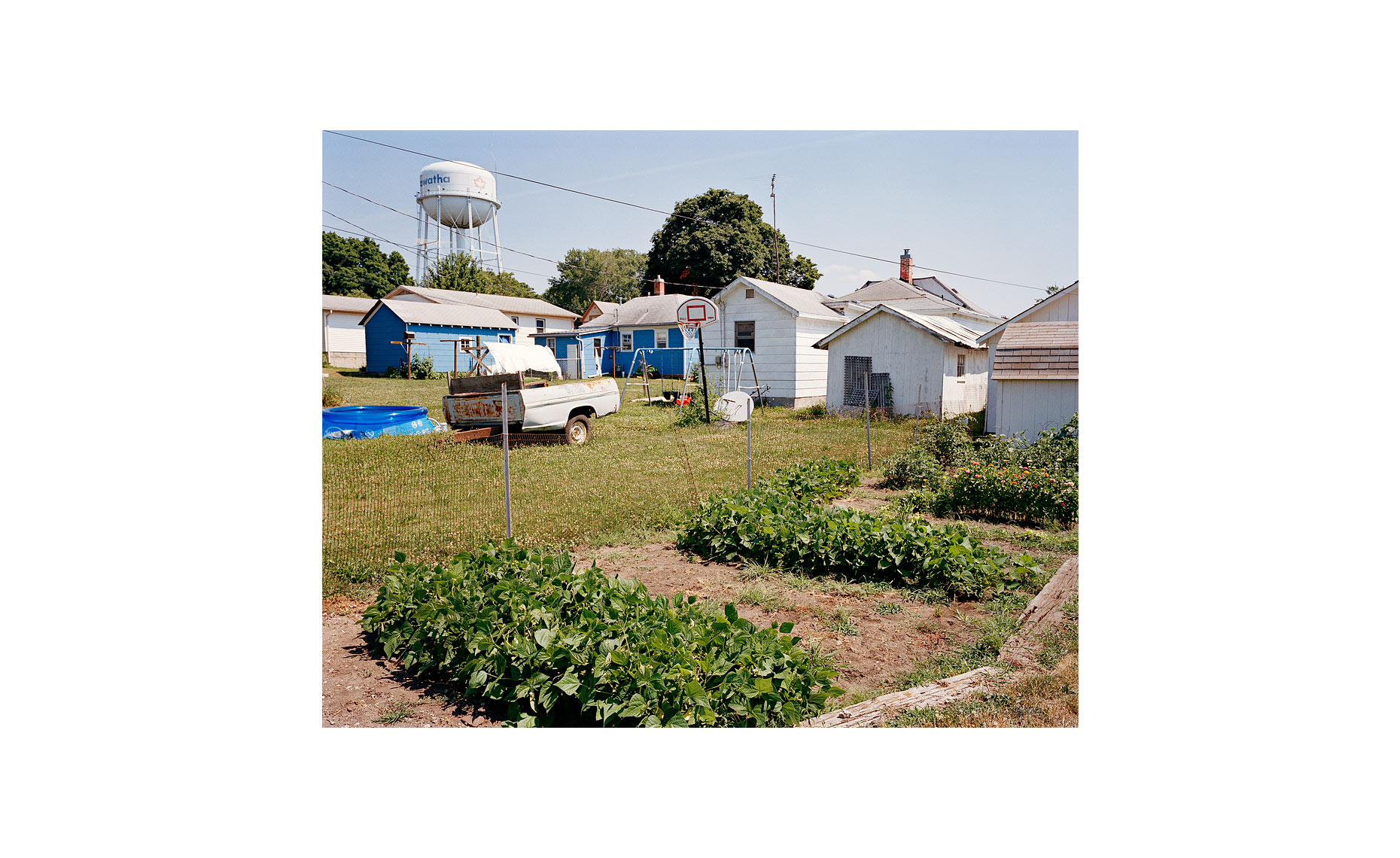 This Was What There Was | Backyards. Hiawatha, Kansas. July 2005