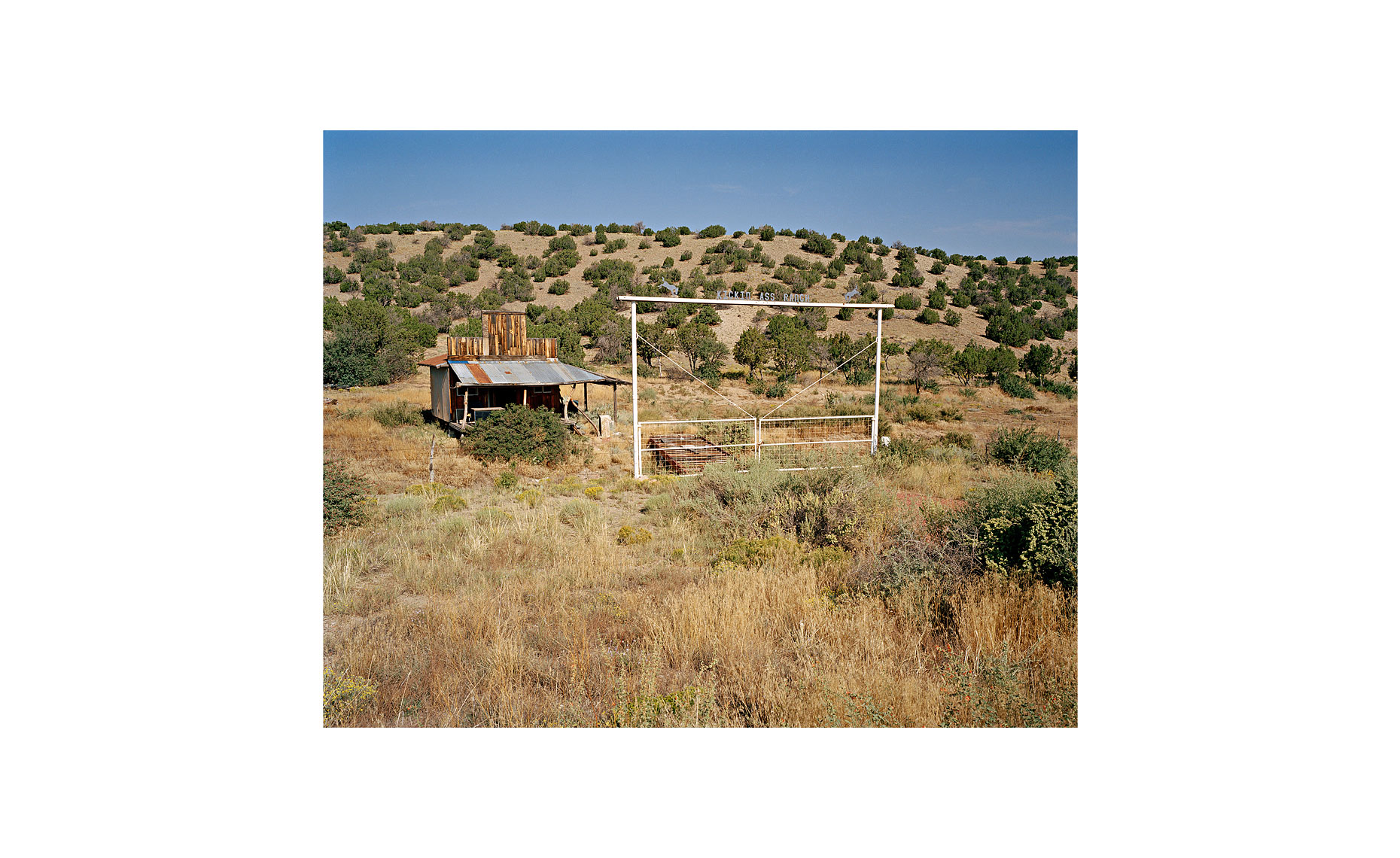 This Was What There Was | Kickin Ass Ranch. Madrid, New Mexico. September 2005
