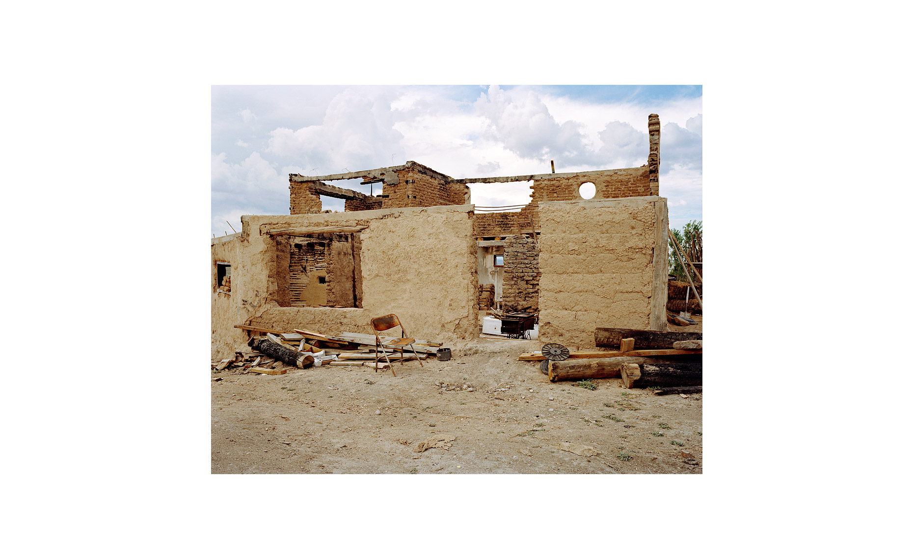 This Was What There Was | Romero Property. Llano Quemado. Taos, New Mexico. Septermber 2005