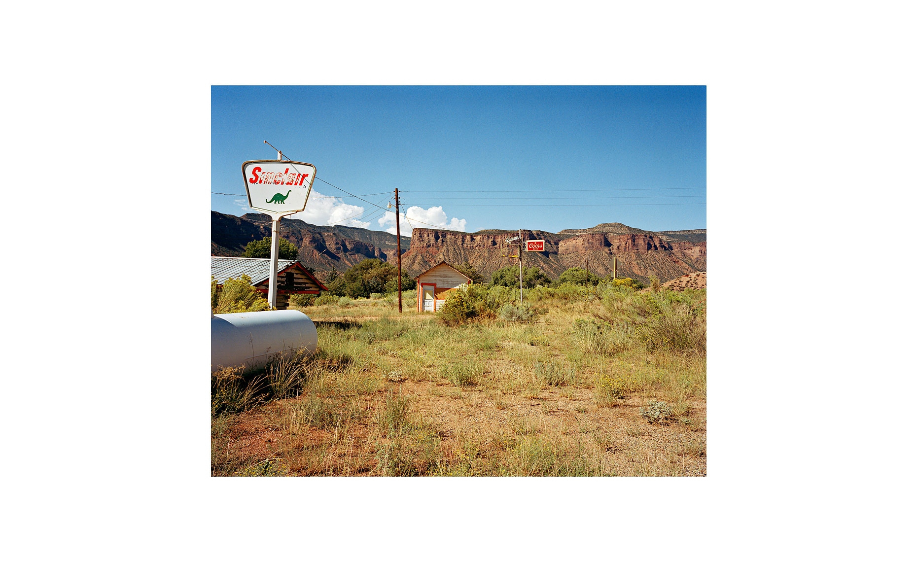 This Was What There Was | Sinclair Oil. Gateway, Colorado. September 2005