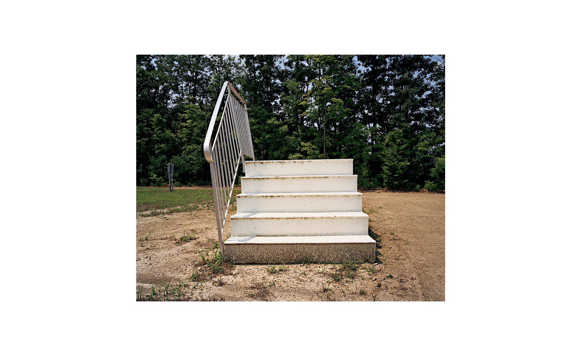 This Was What There Was | Stairway. Willis, Michigan. July 2006